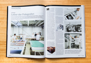 White Wall Story at ProfiFoto Magazin