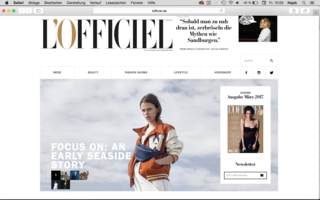 Early Lookbook at L'officiel.de