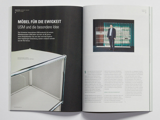 Story about USM Haller for Character Magazine